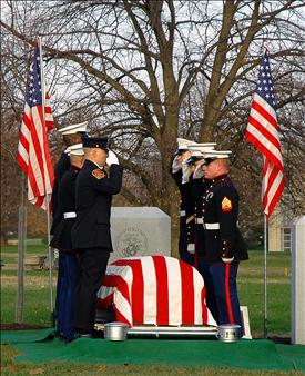 Lance M. Thompson, CPL USMC was KIA on November 15, 2004. Etherton Hardwoods salutes Lance and all who have paid the ultimate price this Memorial Day.