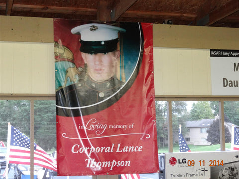 Lance M. Thompson, CPL United States Marine Corps - KIA November 15, 2004 - Operation Iraqi Freedom - Etherton Hardwoods Remembers all the fallen this Memorial Day.