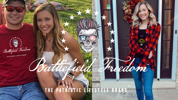 Battlefield Freedom - The Patriotic Lifestyle Brand - Graphic Tees for Patriots Military T-Shirts - Made in USA - Veteran Owned Business