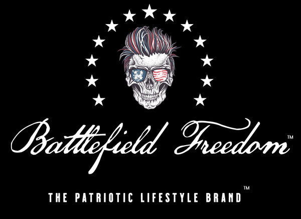Battlefield Freedom Patriotic Lifestyle Brand Gruntstyle Military t shirts  veteran owned business