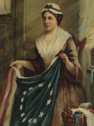 History of the Betsy Ross American Flag from 1776