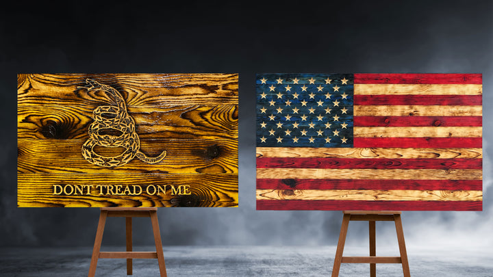 Buy Rustic Wooden American Flag Carved Stars Handcrafted by Veterans with PTSD in the USA Wood Flags Fast Shipping Etherton Hardwoods