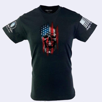 American Reaper Military Style T-Shirts Patriotic Apparel Battlefield Freedom Made in USA by Veterans