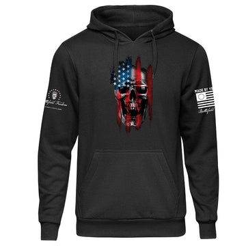 Reaper - Black Hoodie - Military Patriotic Apparel