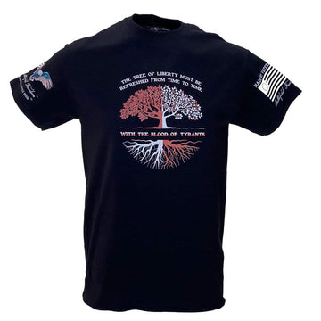 Tree of Liberty - Military Style T-Shirt - Patriot Apparel