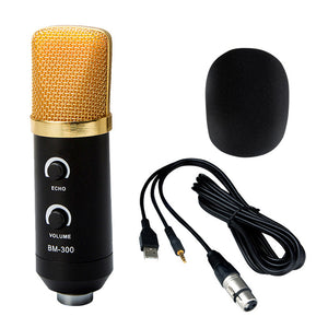 Black 3.5mm USB Microphone Professional Mic Studio Recording