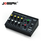 Black Portable 8 Ch Channels Mini Home Studio Stage