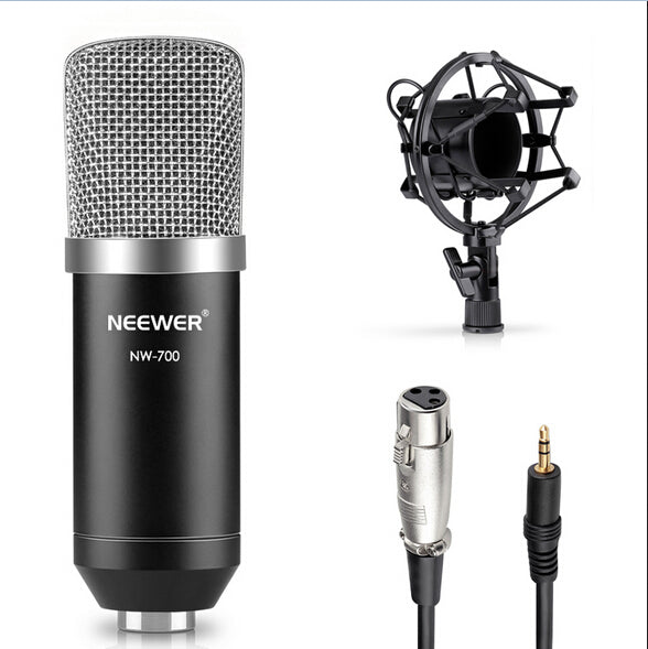 Neewer NW700 Professional Studio Music Broadcasting&Recording Condenser Microphone