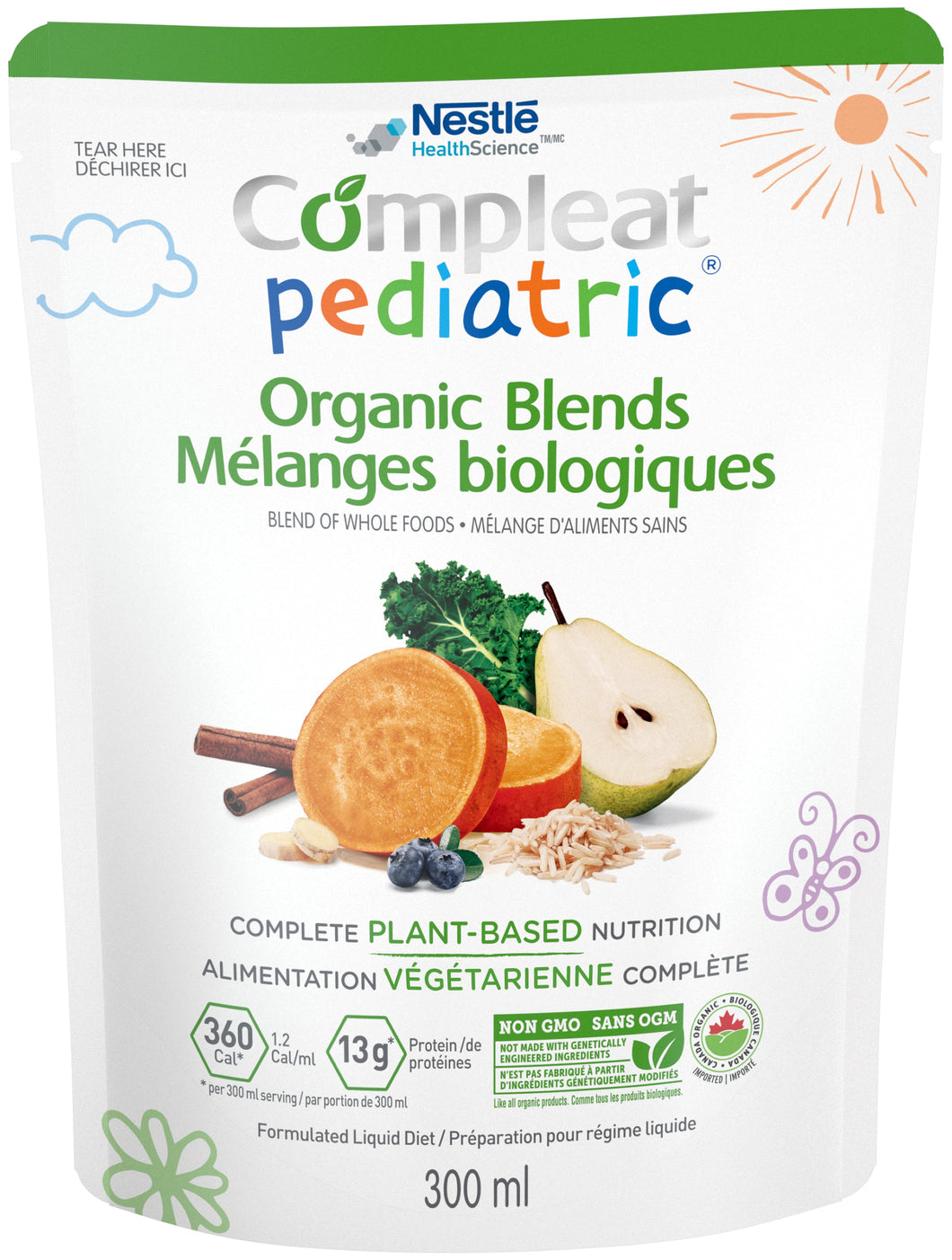 Compleat Pediatric® Organic Blends