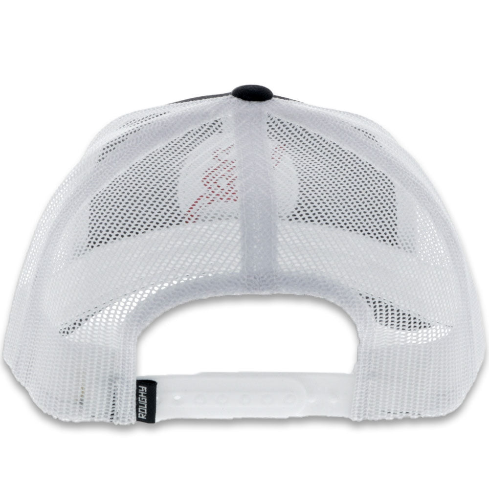 4029-BKWH-Y Strap Youth Cap