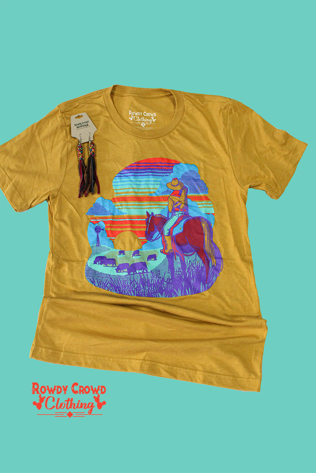 Sunset Daze Tee