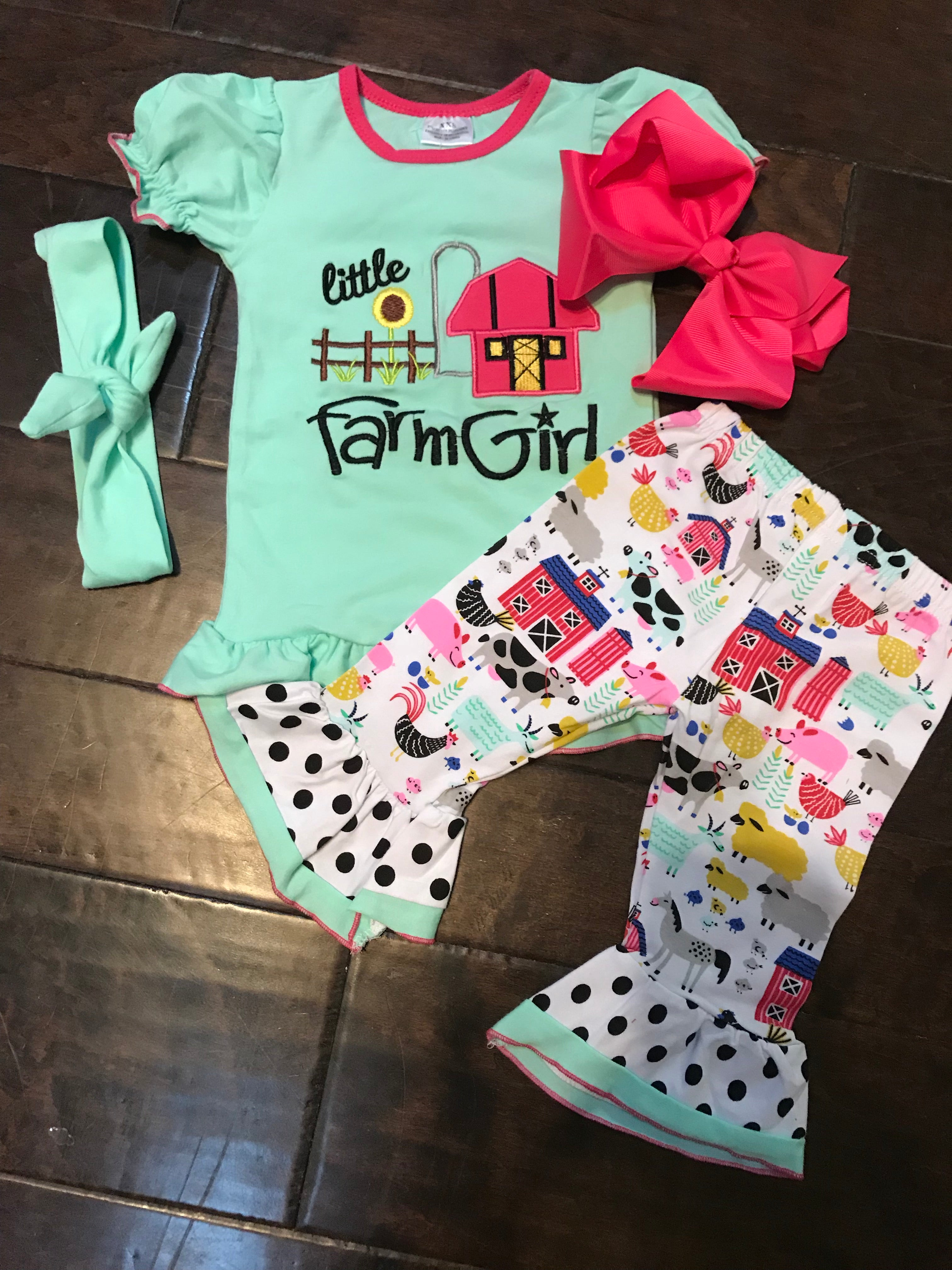 Little Farm Girl Set
