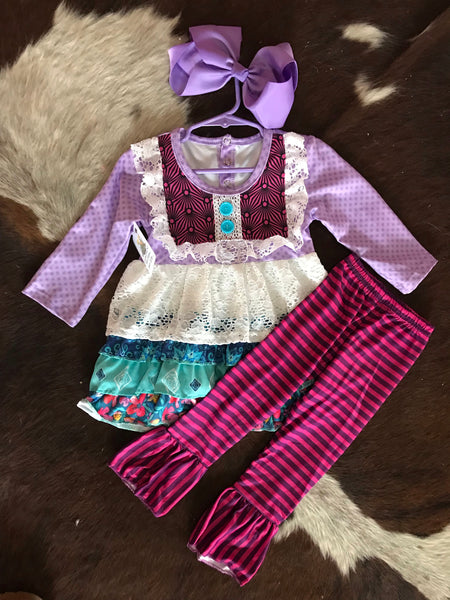 Lavender and Lace Set