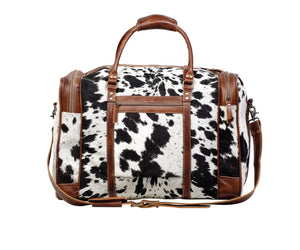 Grand Hair-on Hide Travel Bag