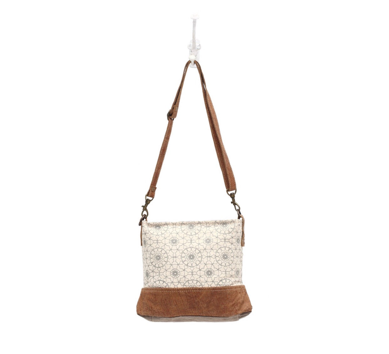 Ferris Wheel Print Cross Body Bag