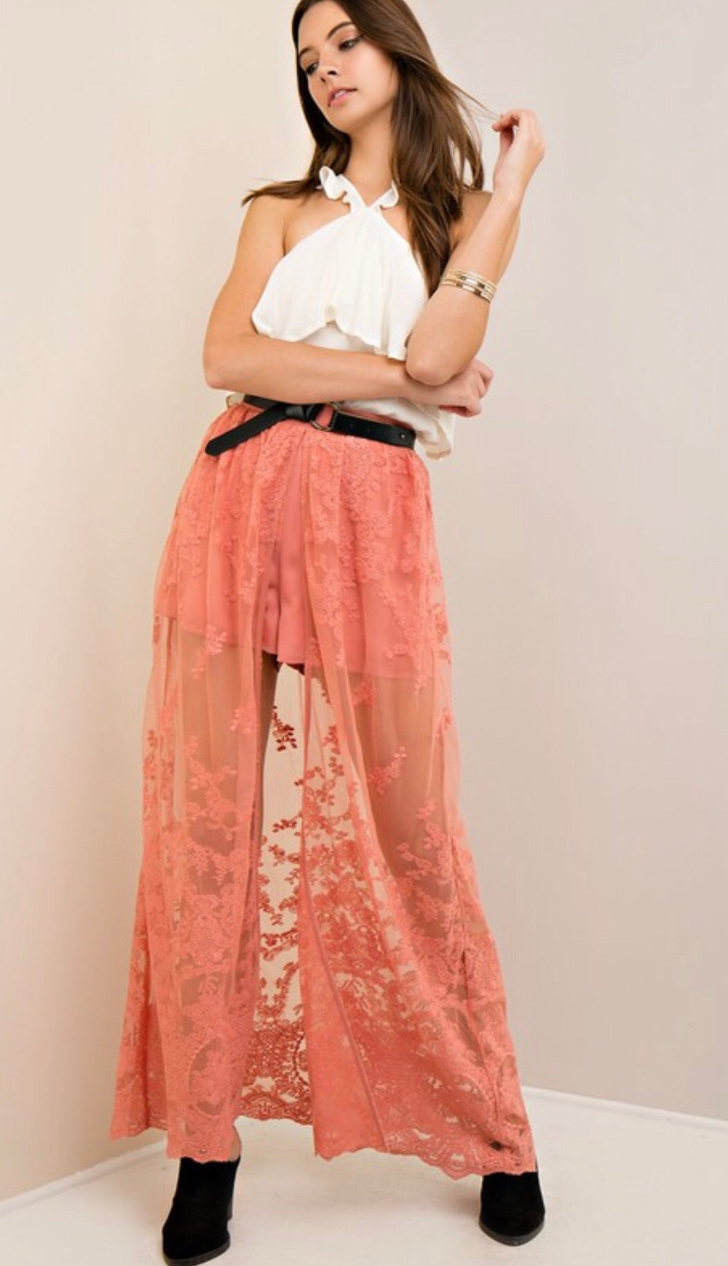 Nikki Lace Maxi Skirt