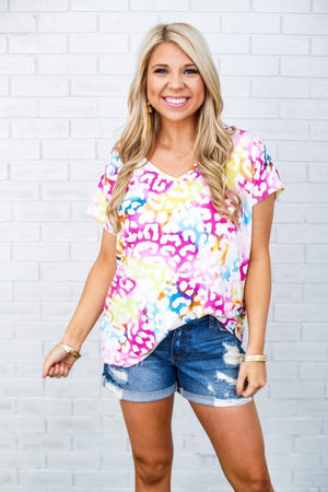 Beaux Print Top