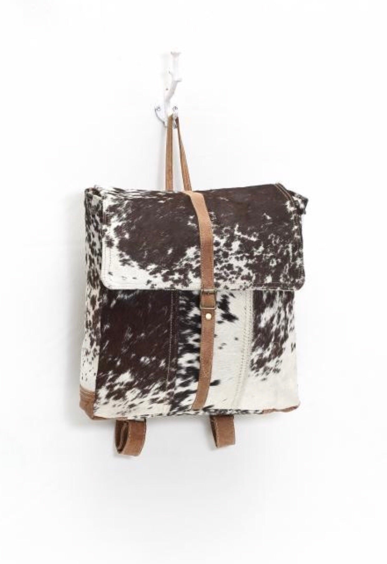 Rustic Hide Backpack