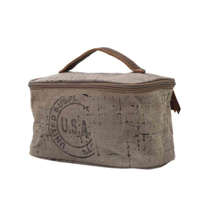 USA Stamped Shaving Kit Bag