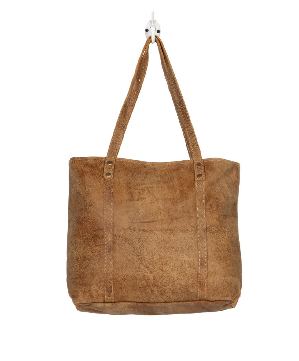 Opulent Leather & Hairon Bag