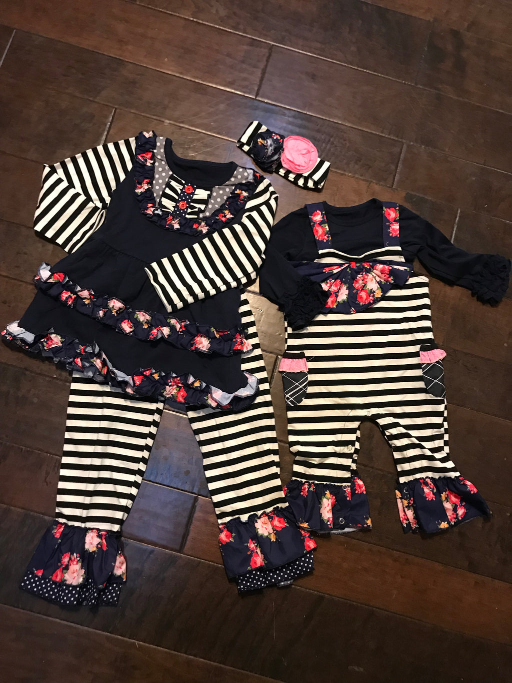Girls Midnight Blossom Set