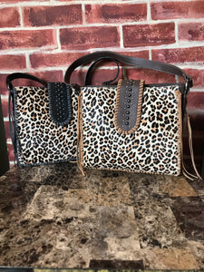 Leopard Lassie Leather Purse