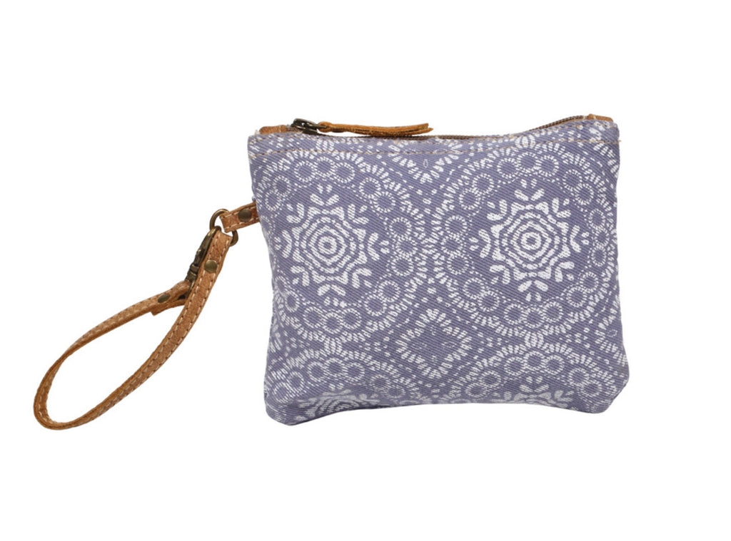 Lavender Abstract Pouch