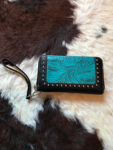Turquoise Trail Boss wallet