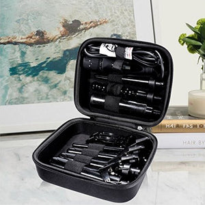 PARWIN PRO 7 in 1 Curling Iron Wand Set with 7 Interchangeable Diamond Tourmaline Ceramic Curl Iron ¡­: Beauty