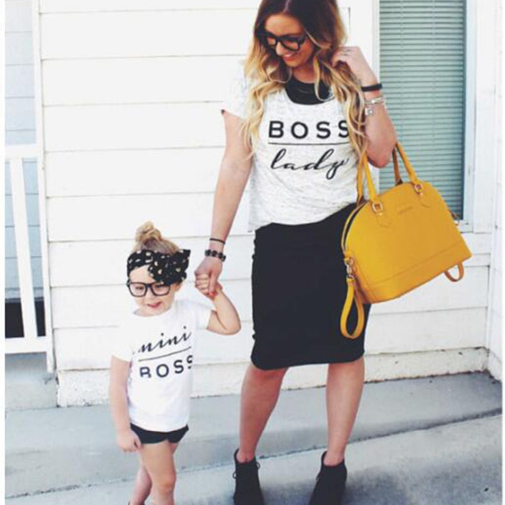 Family Boss Matching Outfit