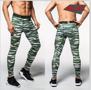 Men's Bodybuilding Skinny Leggings