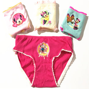 10pcs COTTON Kids Underwear Panties Girls Baby Pants Cute Girls Underwear Mixed Color Cueca Infantil ZJ-3E9R8