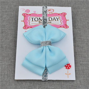 Baby Hair Bow Flower Headband