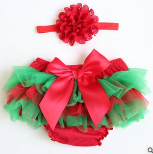 Baby Tutu Skirts with Floral Headband