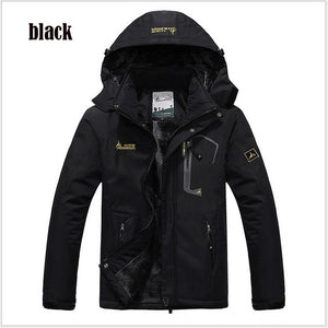 Men's Hooded Winter Wind Breaker Jacket