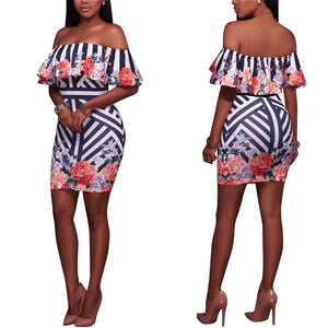 Women's African Printed Dashiki Dress