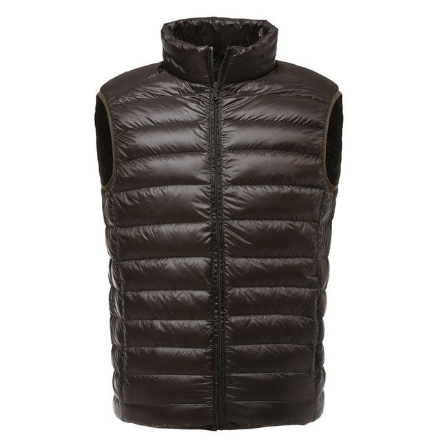 Men's Ultralight Sleeveless Winter Jacket