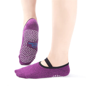 Yhao Brand High quality Yoga Socks Quick-Dry Anti-slip Damping Bandage Pilates Ballet Socks Good Grip Men&Women Cotton socks