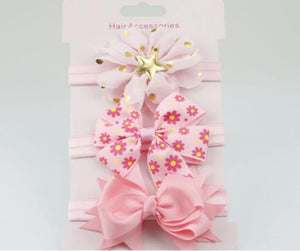 Girl's Elastic Flower HeadBand