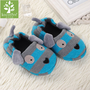 Kids Cotton Slip On House Slipper