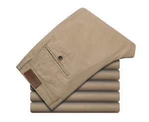 Men's Elastic Casual Pant