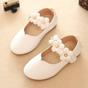 Girls Casual Leather Shoe