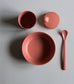 Baby Bamboo Dinnerware Set in Brick by Cink