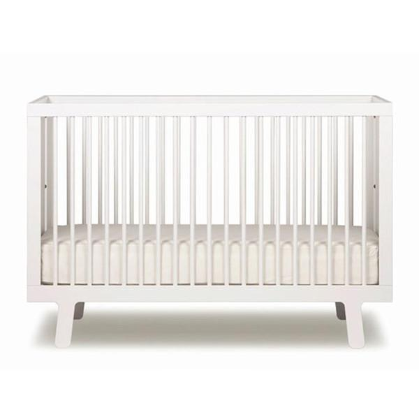 Sparrow Crib in White by Oeuf NYC