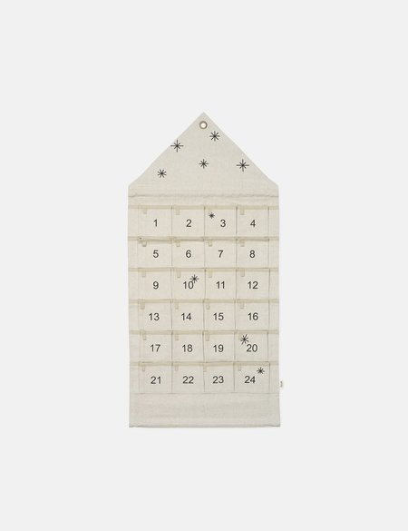 Star Christmas House Calendar by Ferm Living