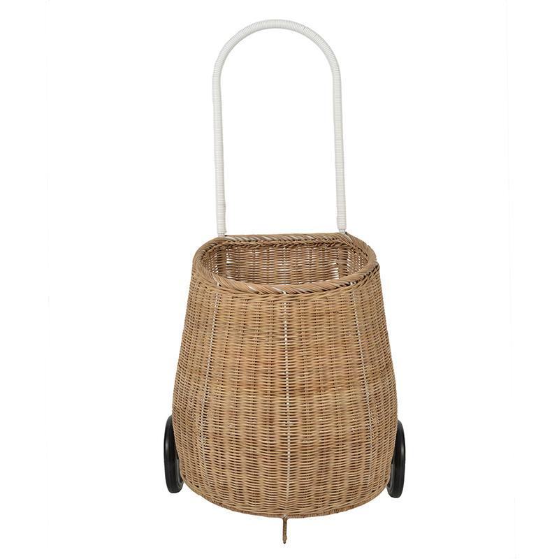 Big Luggy Pull Basket in Natural by Olliella