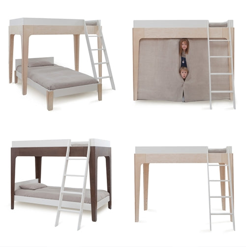 Perch Twin Size Loft Bunk Bed Oeuf Nyc Maude Kids Decor