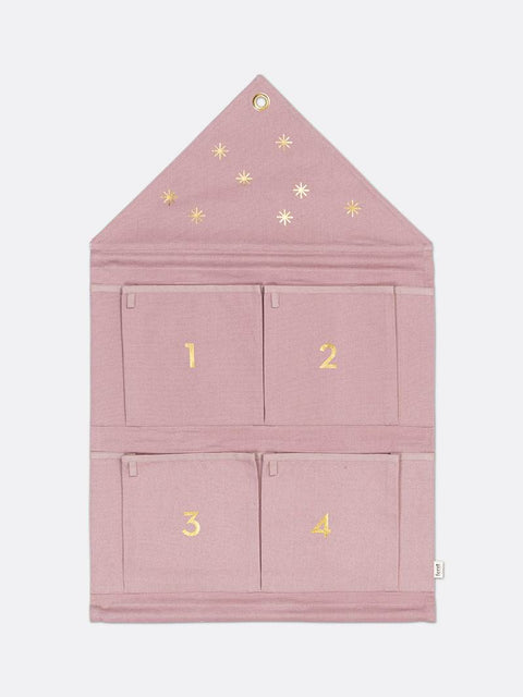 House Advent Calendar Rose by Ferm Living
