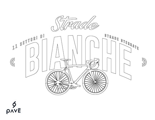 Pave camisetas ciclismo Bianche