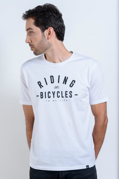 CAMISETA MASCULINA RIDING FOREVER